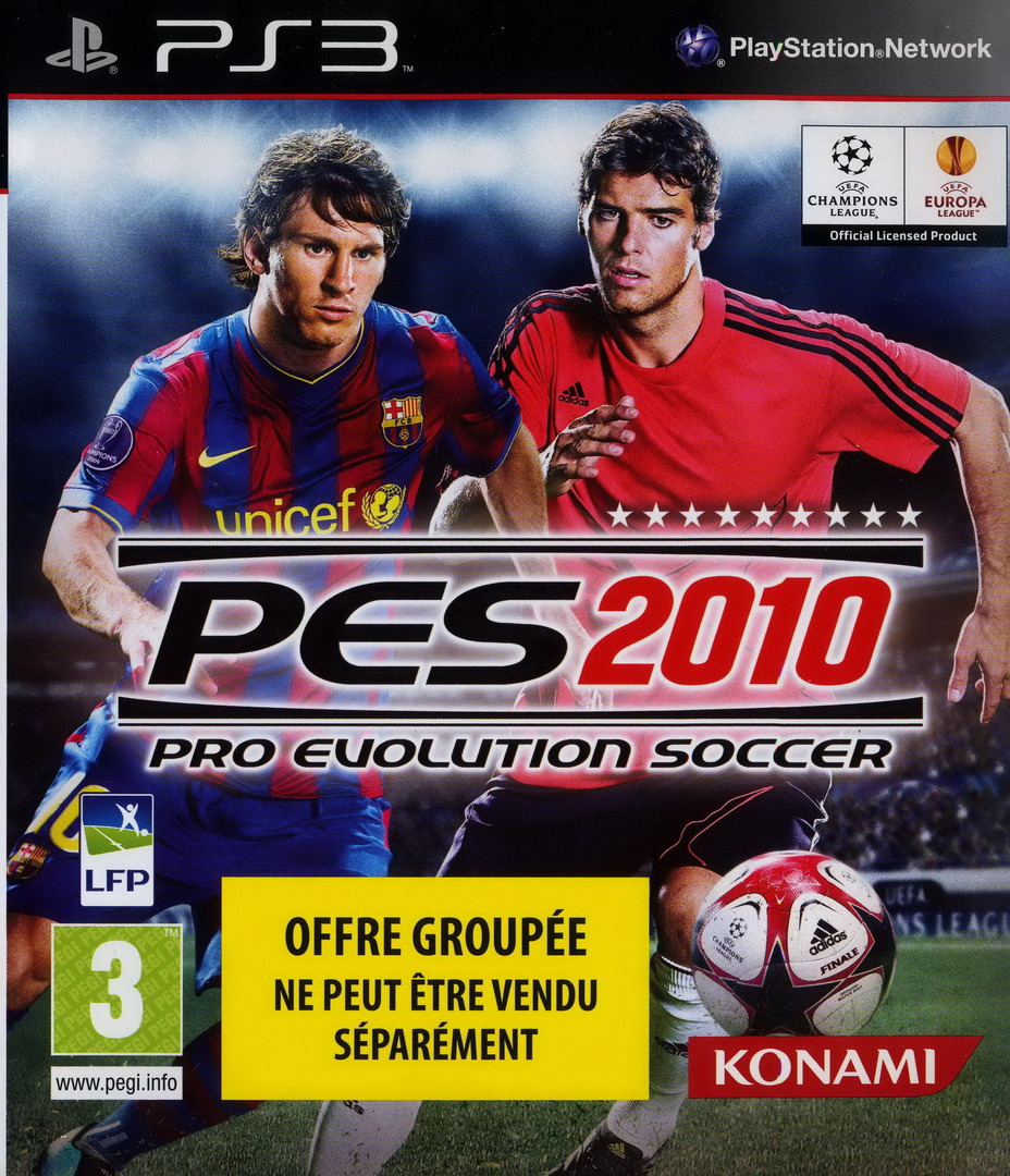 Pro Evolution Soccer 2010 PS3 coverHQ (BLES00689)