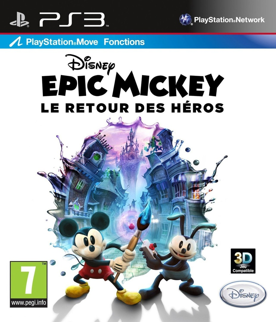 Disney Epic Mickey : Le retour des héros PS3 coverHQ (BLES01627)