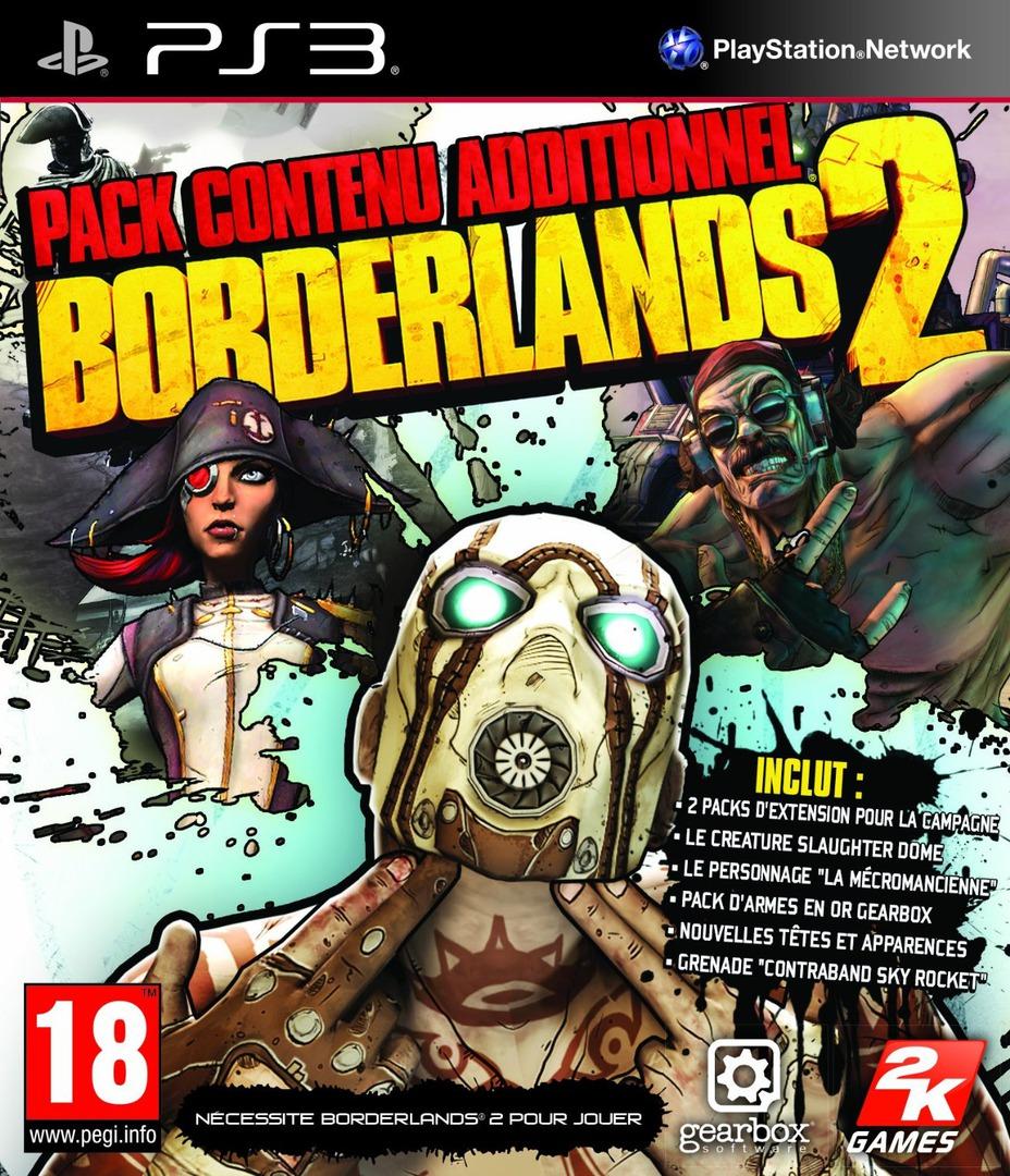 Borderlands 2: Packs de contenu additionnel PS3 coverHQ (BLES01813)