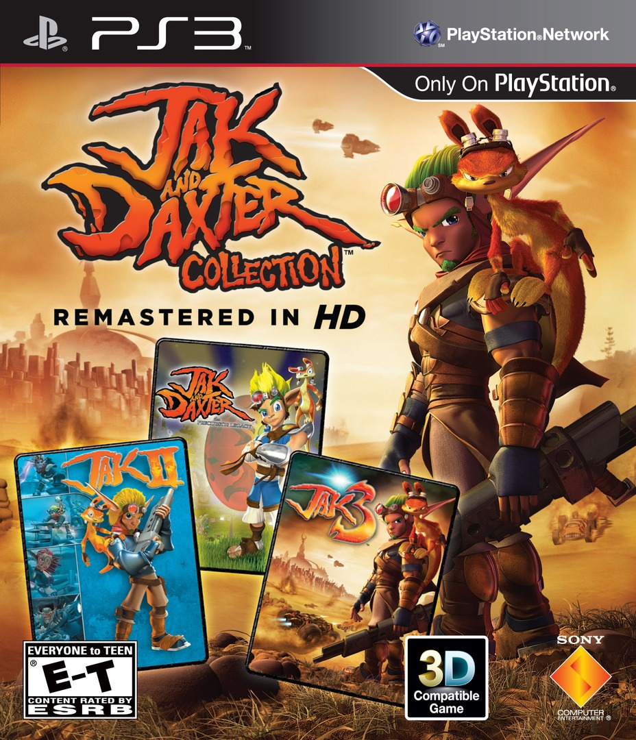 Jak & Daxter Collection PS3 coverHQ (BCUS98081)