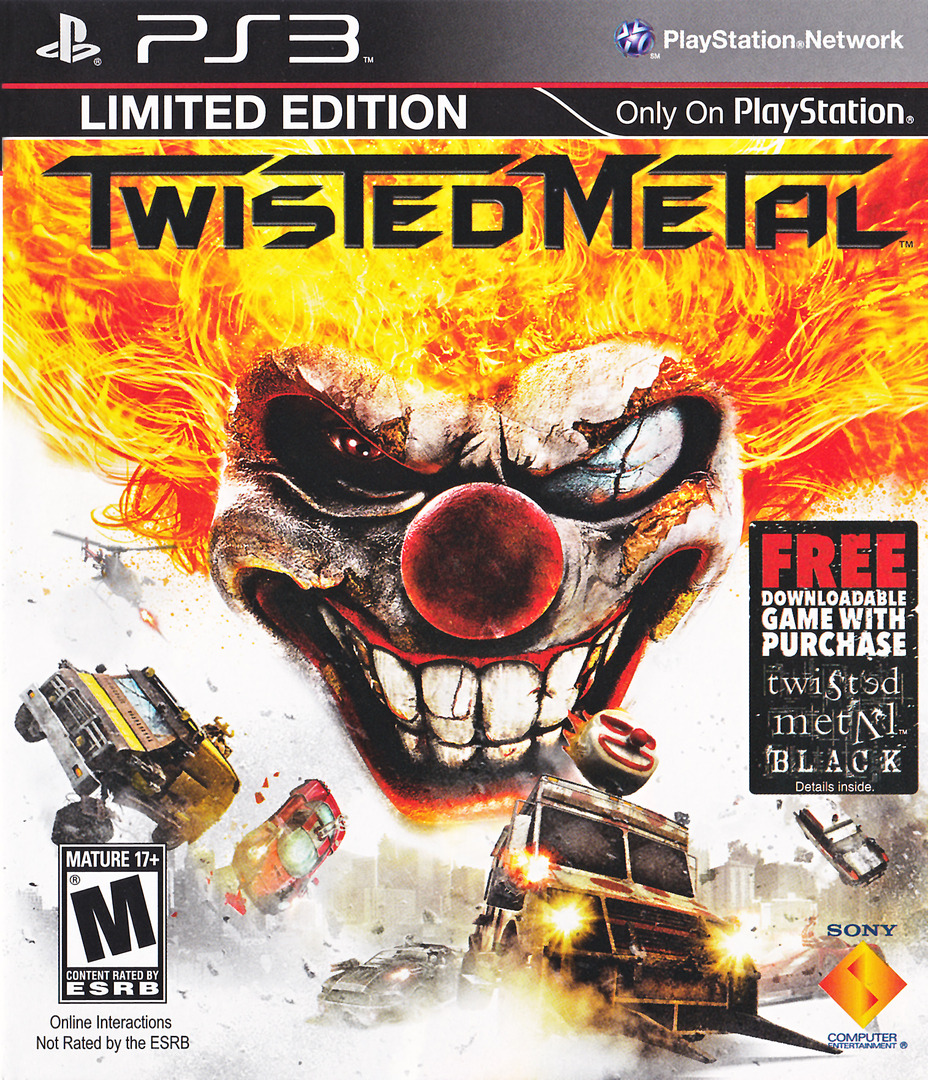 Twisted Metal PS3 coverHQ (BCUS98106)