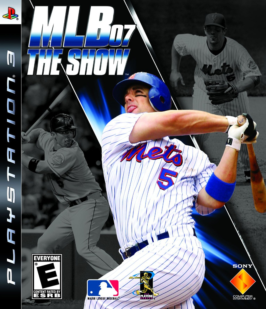 MLB '07: The Show PS3 coverHQ (BCUS98109)
