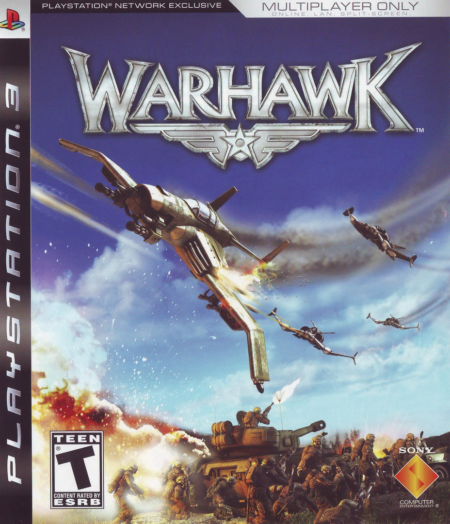 Warhawk (With Headset) PS3 coverHQ (BCUS98117)
