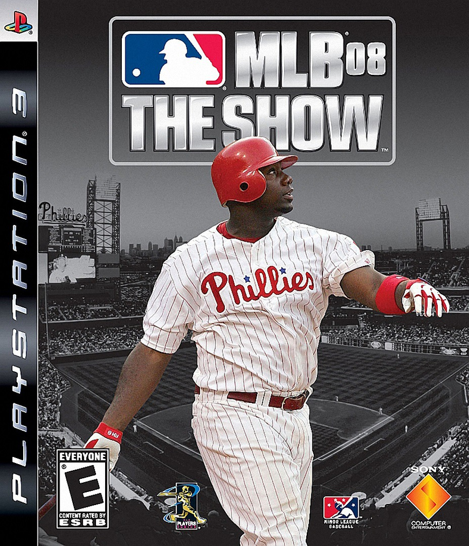 MLB '08: The Show PS3 coverHQ (BCUS98141)