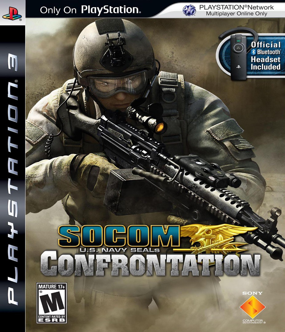 SOCOM: U.S. Navy SEALs - Confrontation PS3 coverHQ (BCUS98152)