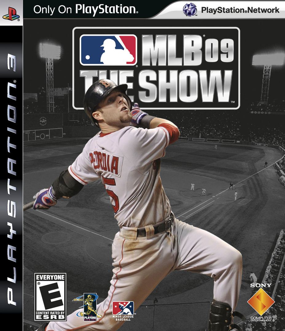 MLB 09: The Show PS3 coverHQ (BCUS98180)