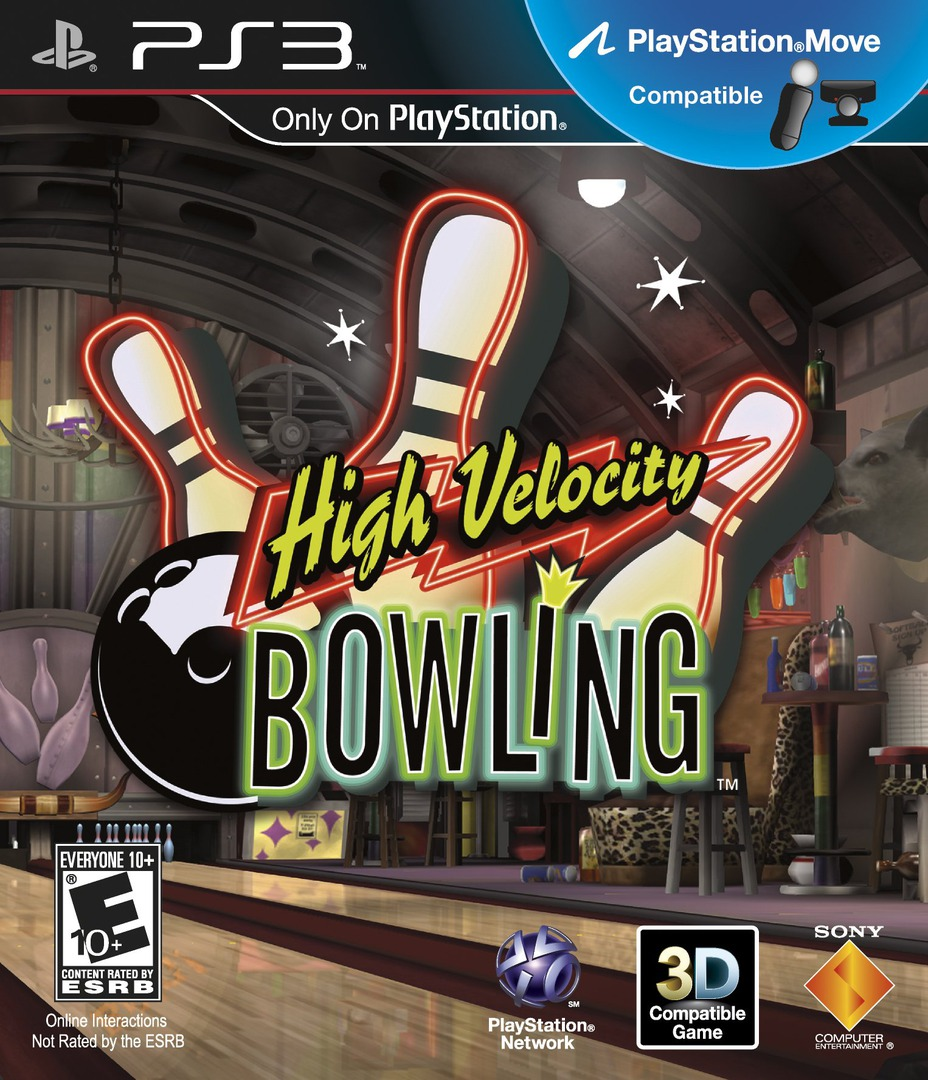 High Velocity Bowling (Move Edition) PS3 coverHQ (BCUS98261)