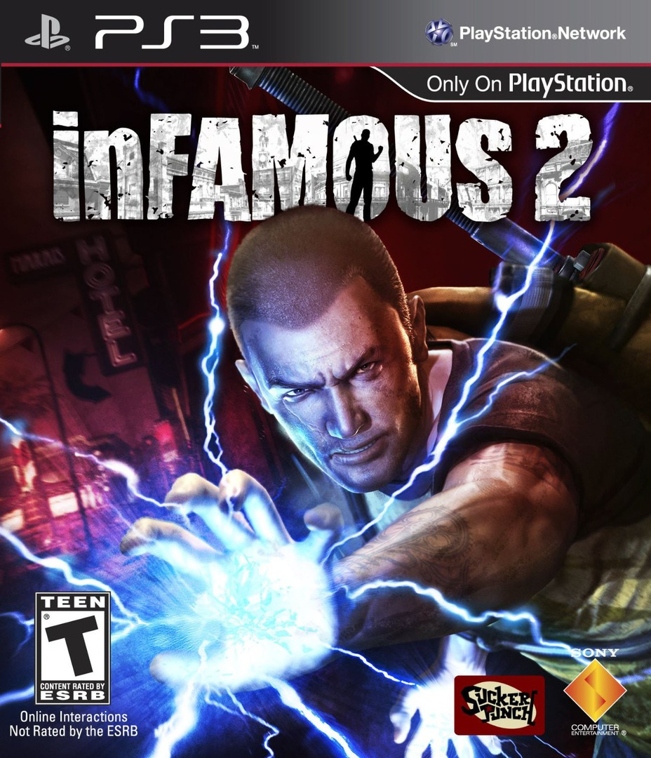 inFamous 2 (Hero Edition) PS3 coverHQ (BCUS98290)