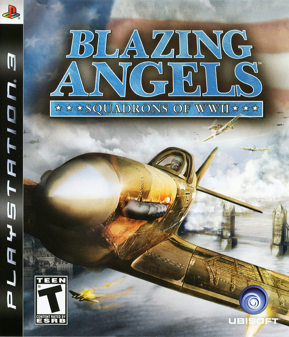 Blazing Angels: Squadrons of WWII PS3 coverHQ (BLUS30006)