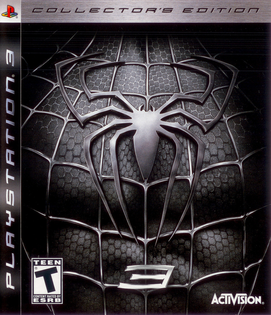 Spider-Man 3 (Collector's Edition) PS3 coverHQ (BLUS30030)
