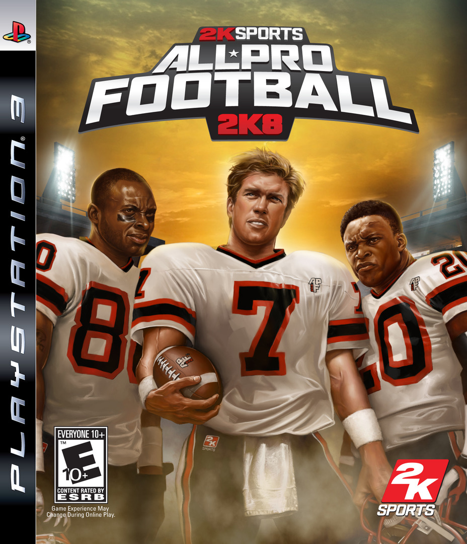 All-Pro Football 2K8 PS3 coverHQ (BLUS30049)