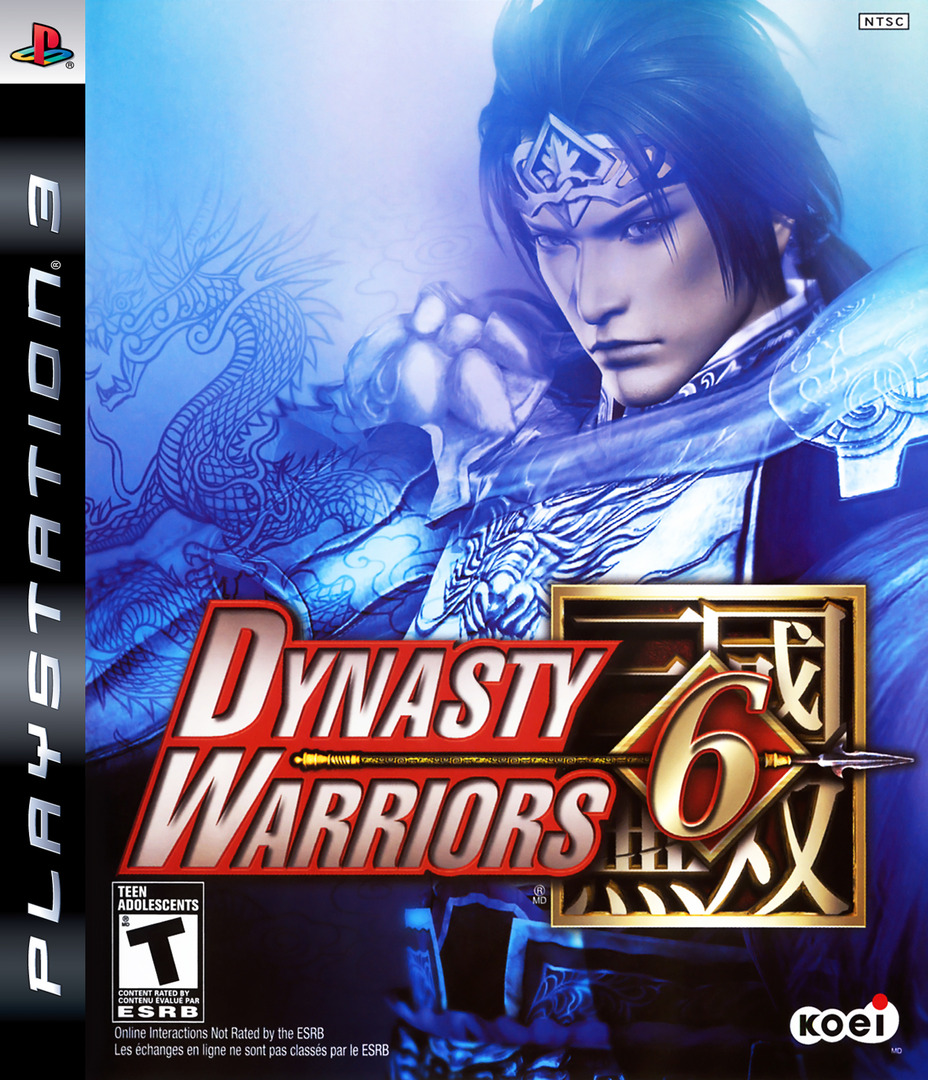 Dynasty Warriors 6 PS3 coverHQ (BLUS30110)