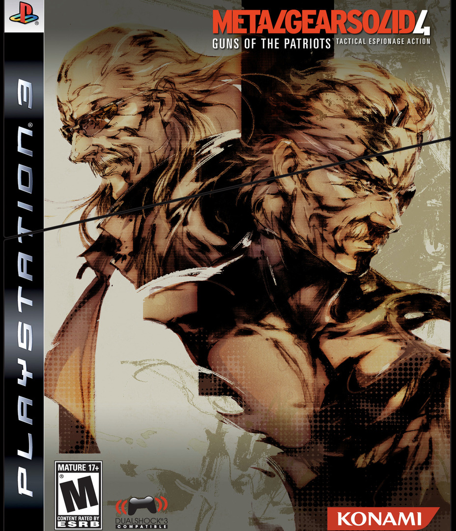Metal Gear Solid 4: Guns of the Patriots (Limited Edition) PS3 coverHQ (BLUS30148)