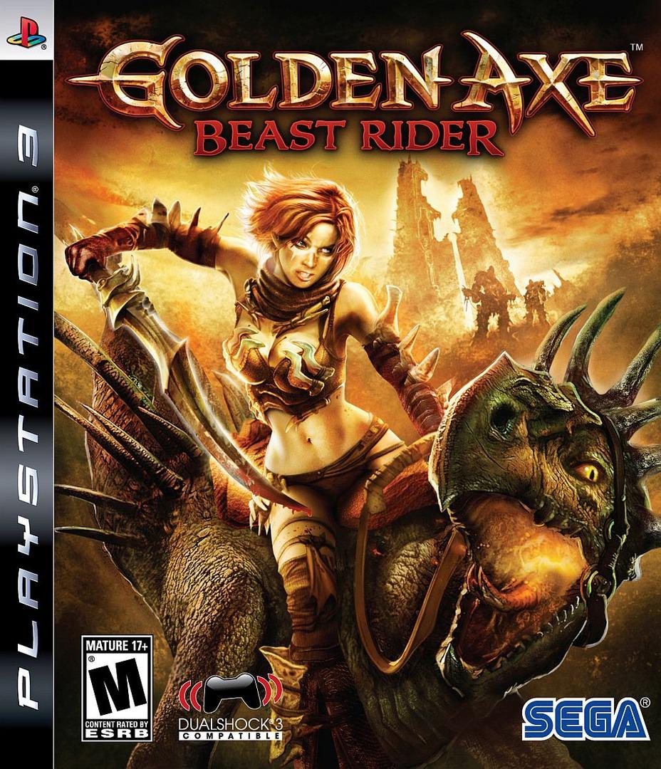 Golden Axe: Beast Rider PS3 coverHQ (BLUS30209)