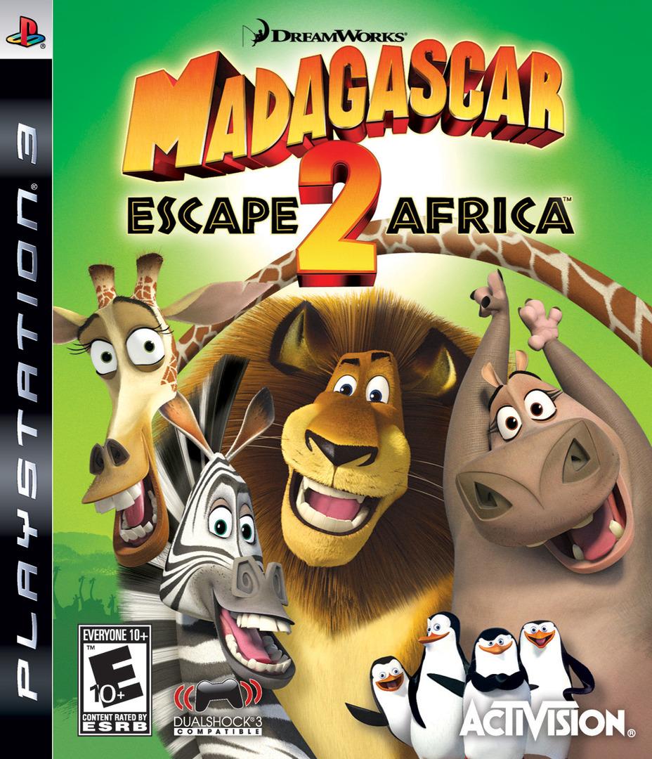 Madagascar: Escape 2 Africa PS3 coverHQ (BLUS30219)