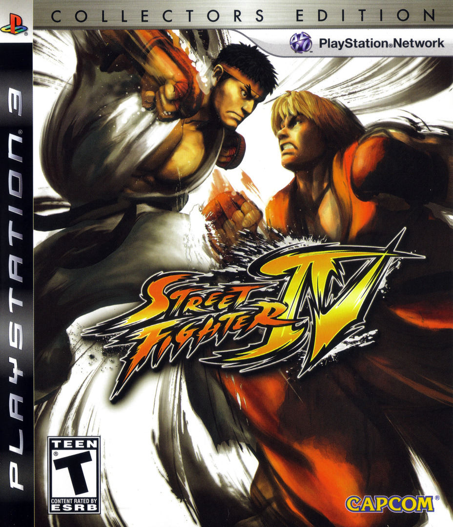 Street Fighter IV (Collector's Edition) PS3 coverHQ (BLUS30260)