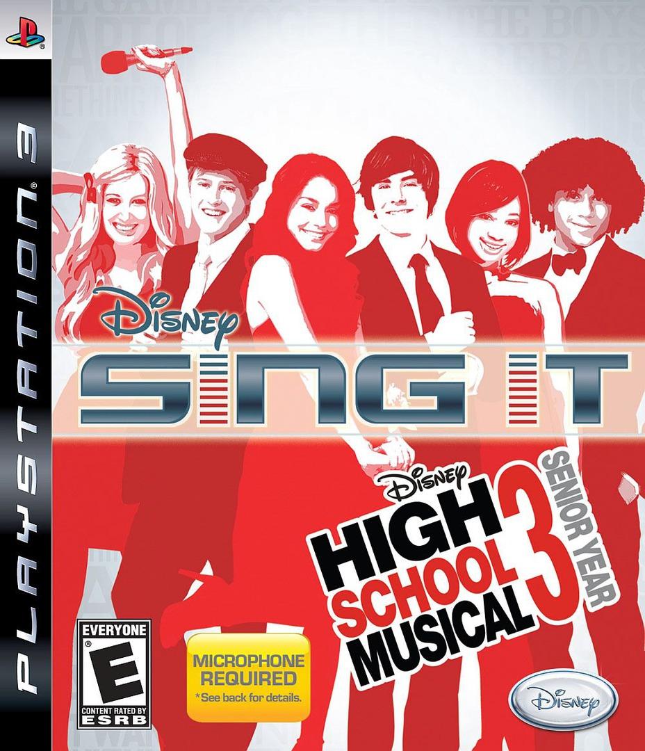 Disney's Sing It! High School Musical 3: Senior Year PS3 coverHQ (BLUS30274)