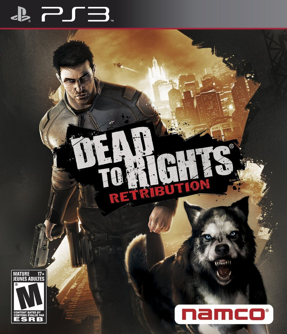 Dead to Rights: Retribution PS3 coverHQ (BLUS30278)