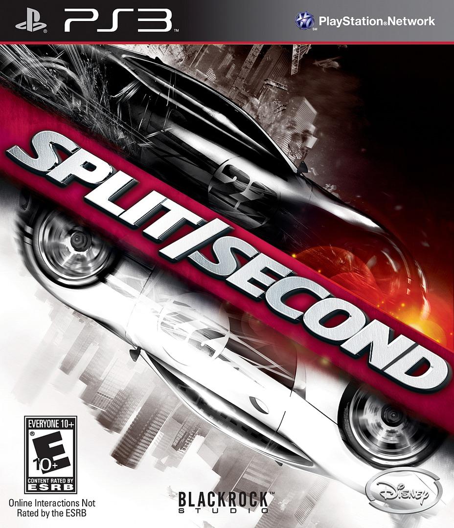 Split / Second PS3 coverHQ (BLUS30300)