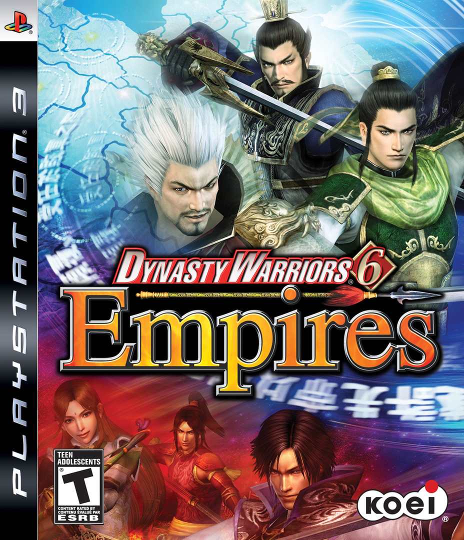 Dynasty Warriors 6: Empires PS3 coverHQ (BLUS30306)