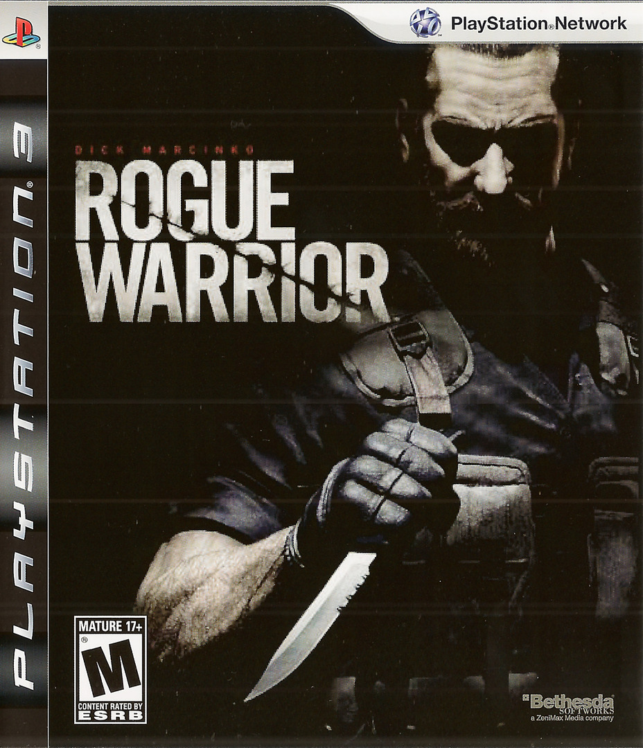 Rogue Warrior PS3 coverHQ (BLUS30311)