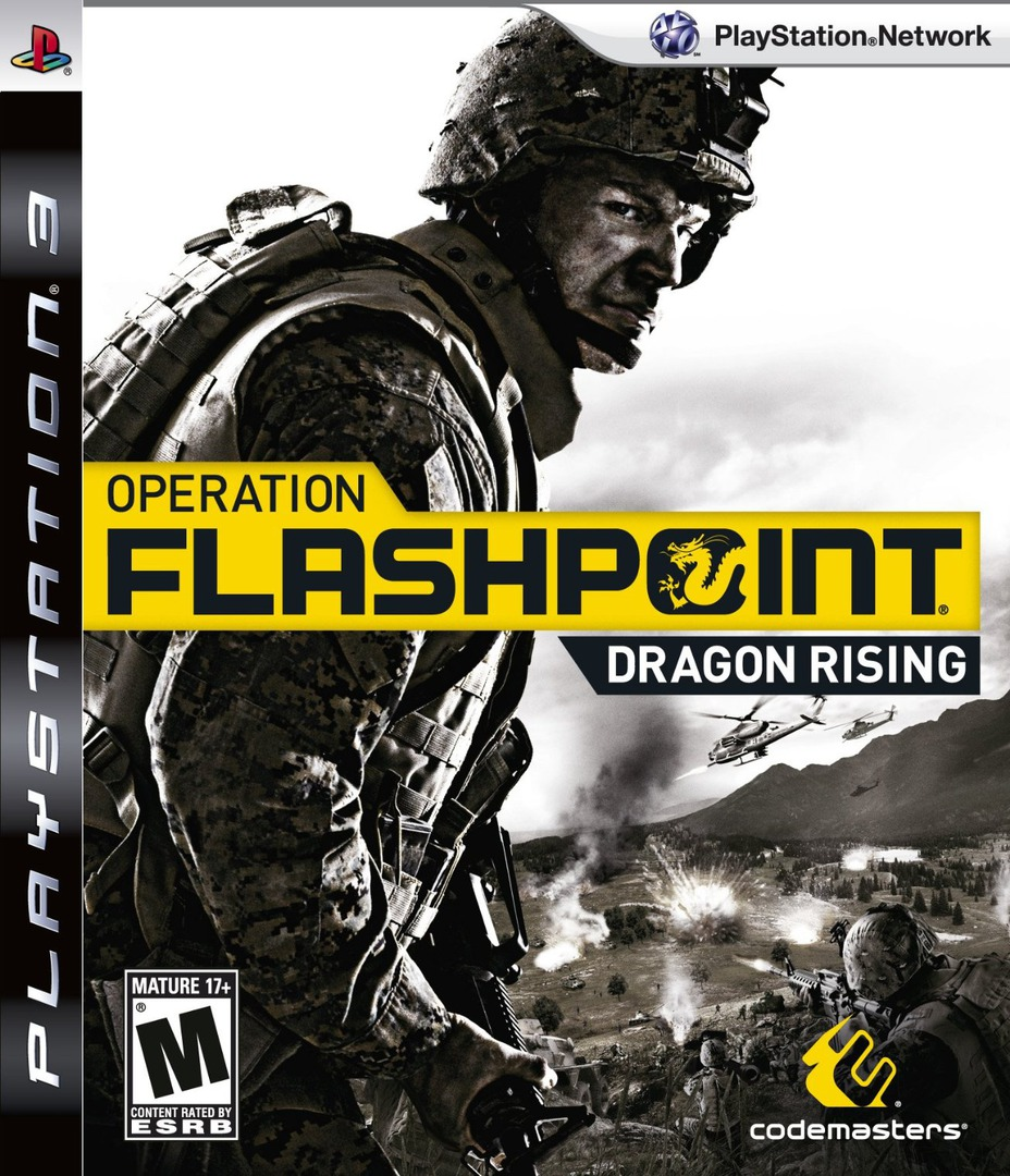 Operation Flashpoint: Dragon Rising PS3 coverHQ (BLUS30316)