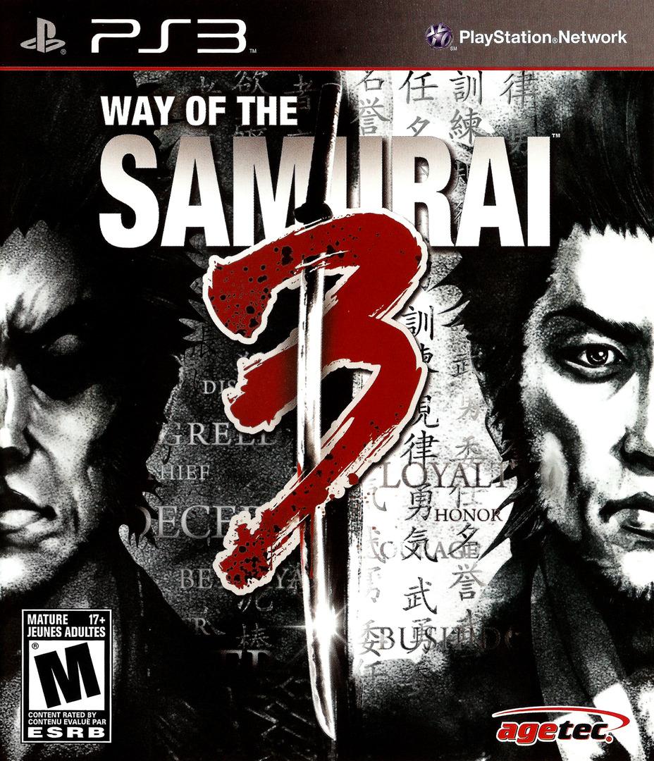 Way of the Samurai 3 PS3 coverHQ (BLUS30398)