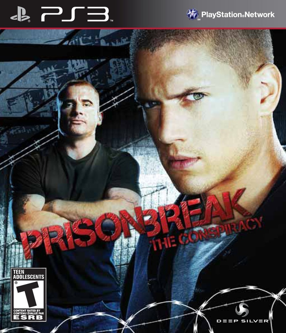 Prison Break: The Conspiracy PS3 coverHQ (BLUS30467)