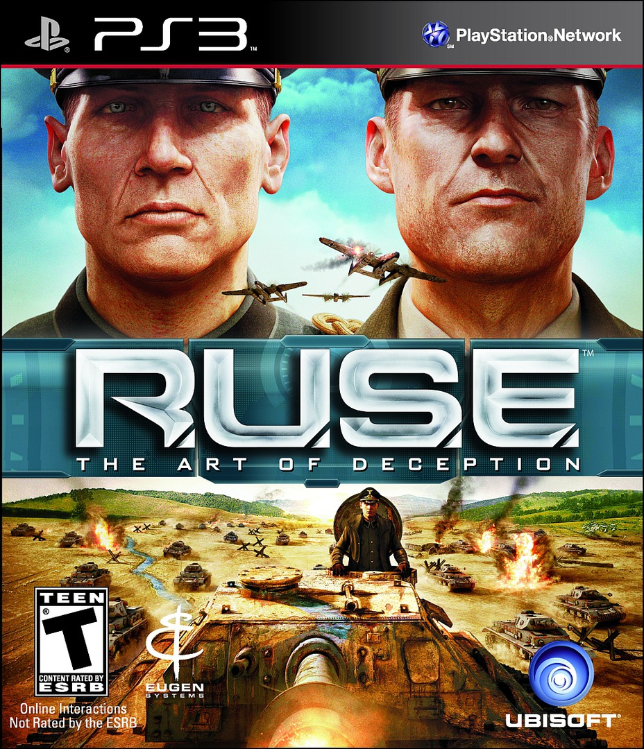 R.U.S.E. PS3 coverHQ (BLUS30478)