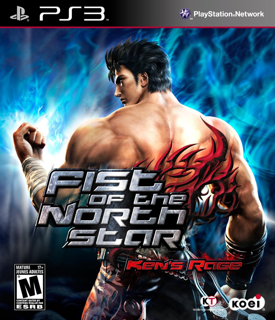 Fist of the North Star: Ken's Rage PS3 coverHQ (BLUS30504)