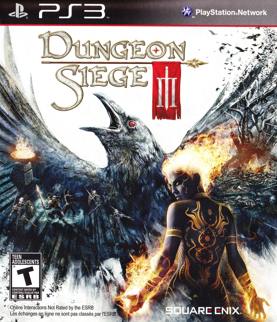 Dungeon Siege III PS3 coverHQ (BLUS30510)