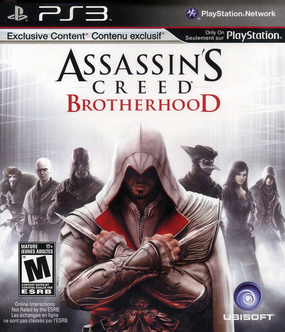 Assassin's Creed: Brotherhood PS3 coverHQ (BLUS30537)