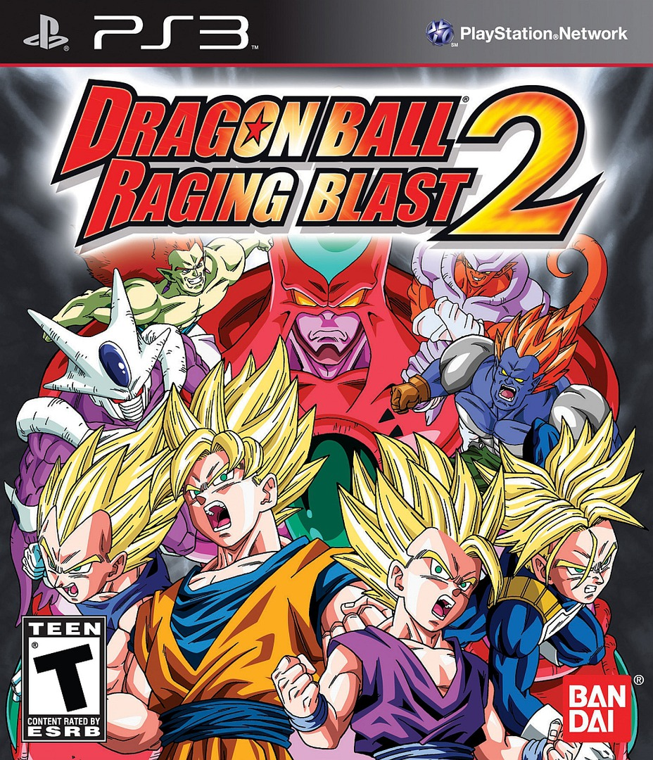 Dragon Ball Raging 2 PS3 coverHQ (BLUS30581)