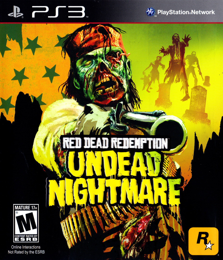 Kết quả hình ảnh cho Red Dead Redemption: Undead Nightmare cover ps3