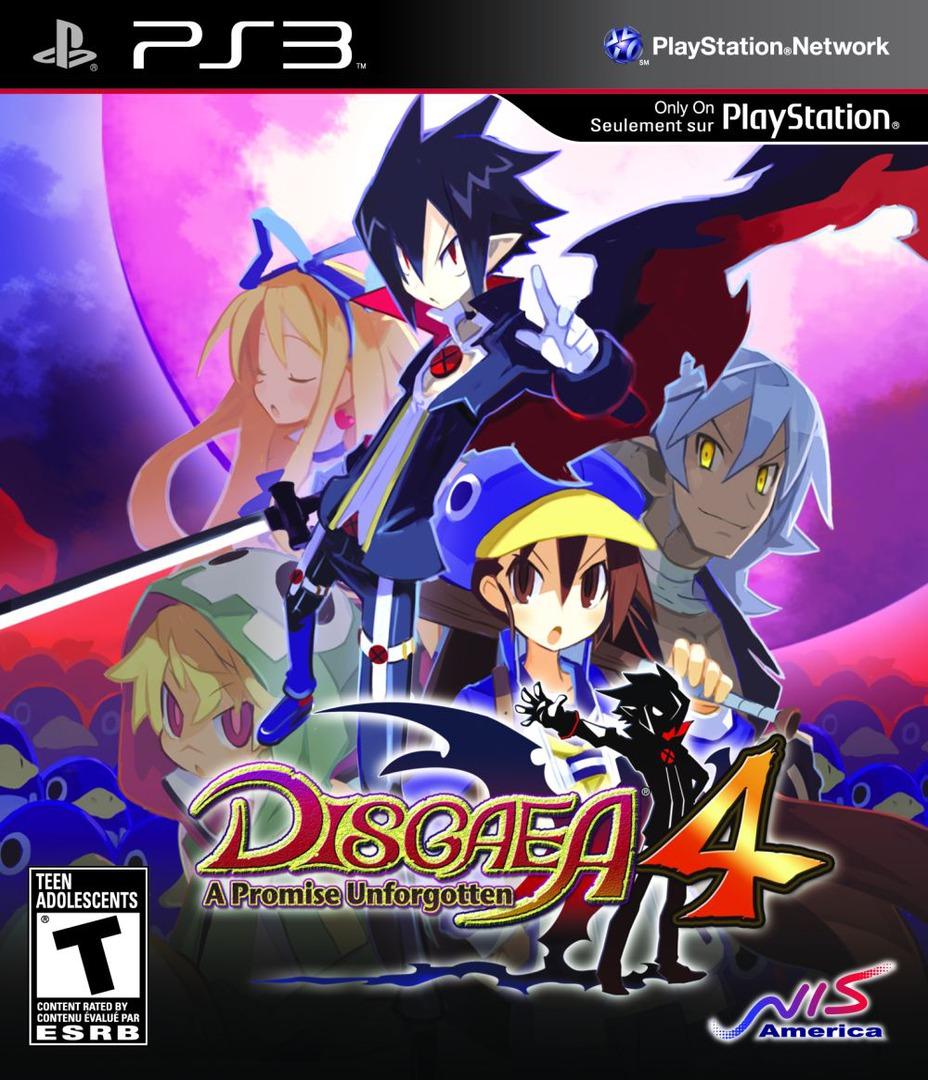 Disgaea 4: A Promise Unforgotten PS3 coverHQ (BLUS30727)