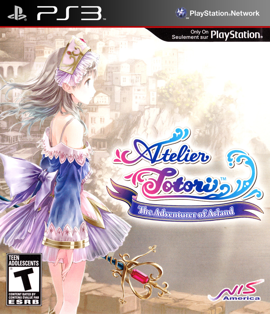 Atelier Totori: The Adventurer of Arland PS3 coverHQ (BLUS30735)