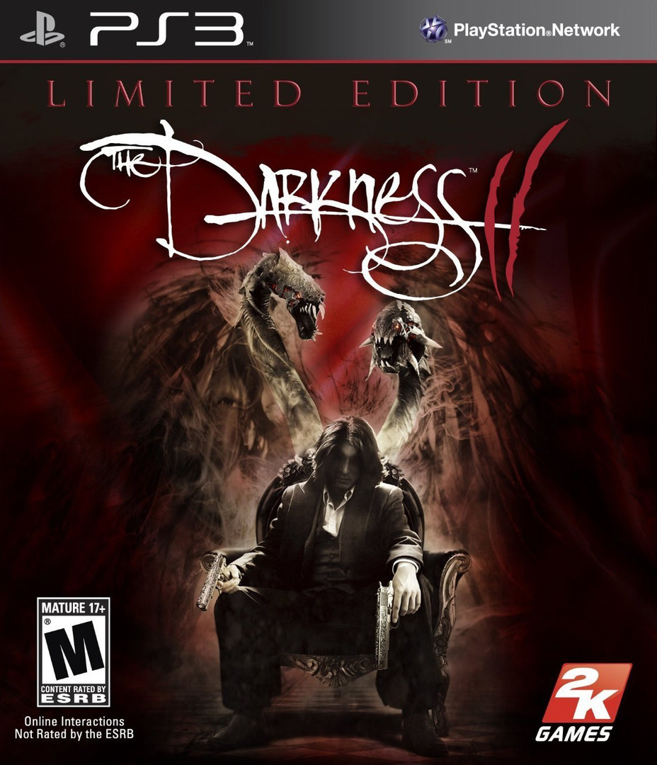 Darkness II (Limited Edition) PS3 coverHQ (BLUS30743)