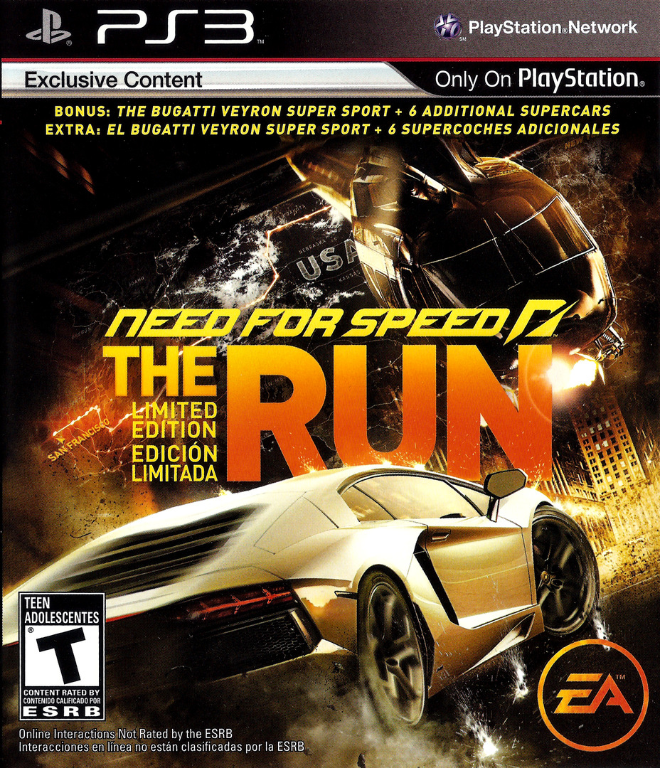 Need for Speed: The Run PS3 coverHQ (BLUS30757)