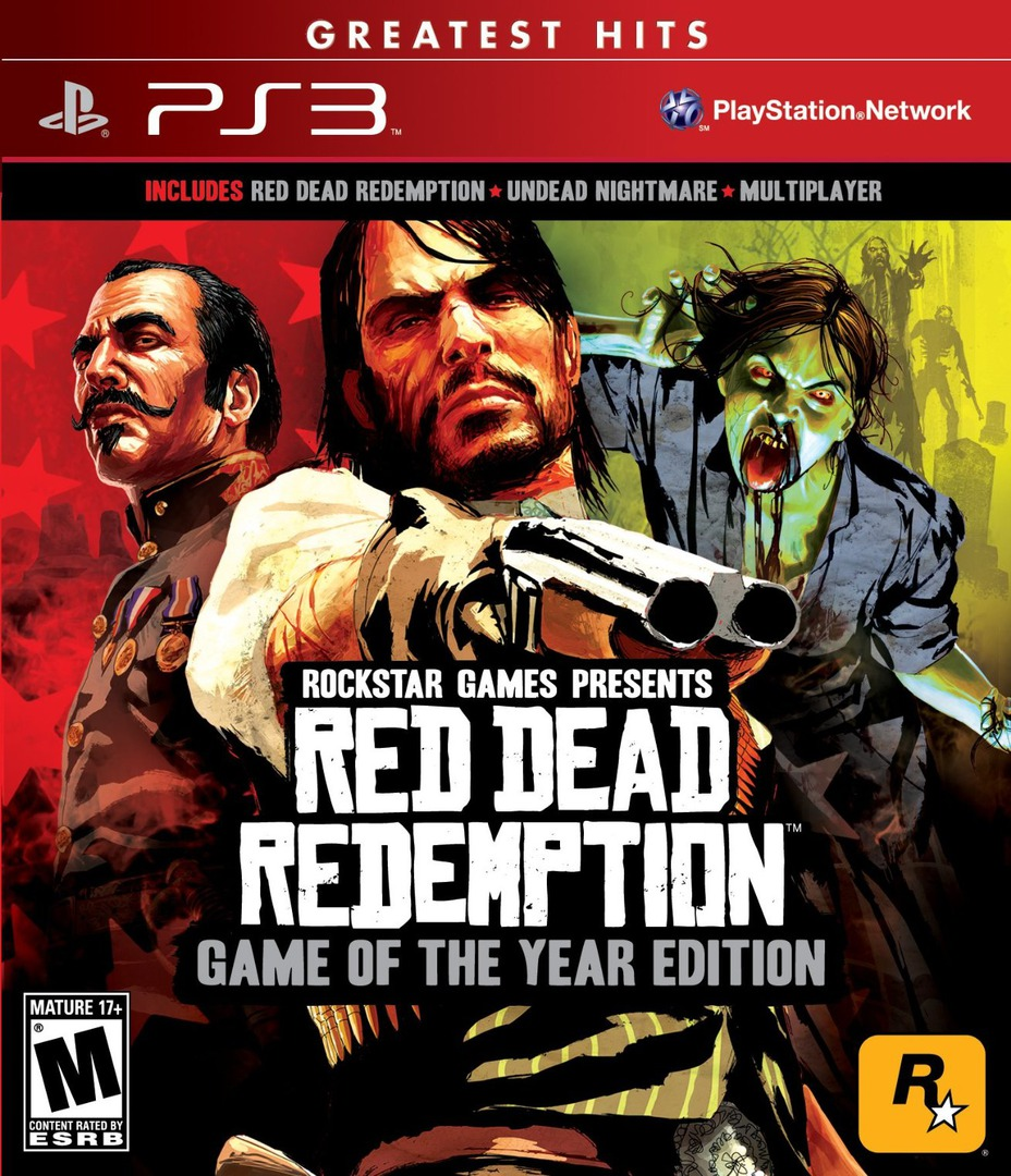 Red Dead Redemption: Game of the Year Edition PS3 coverHQ (BLUS30758)