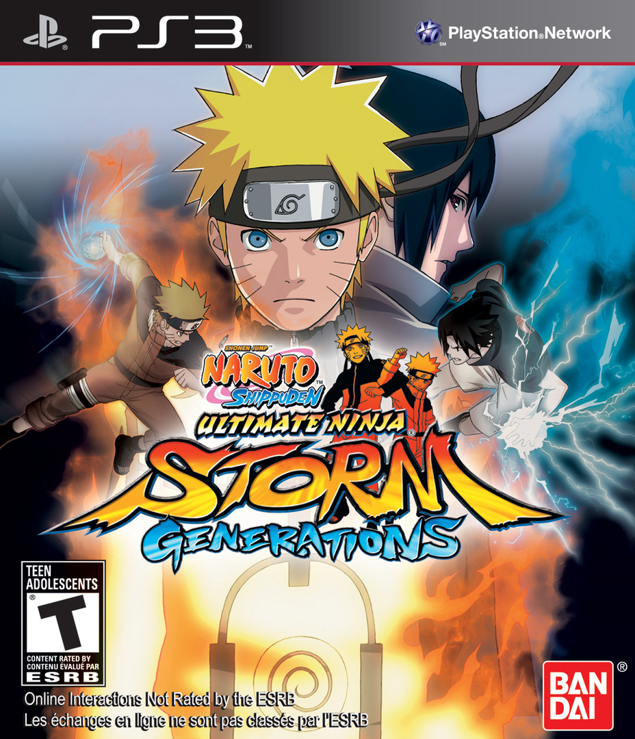 Naruto Shippuden: Ultimate Ninja Storm Generations PS3 coverHQ (BLUS30792)