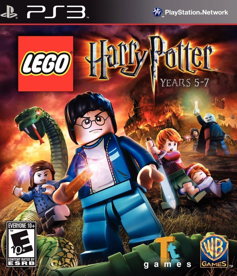 LEGO Harry Potter: Years 5-7 PS3 coverHQ (BLUS30794)