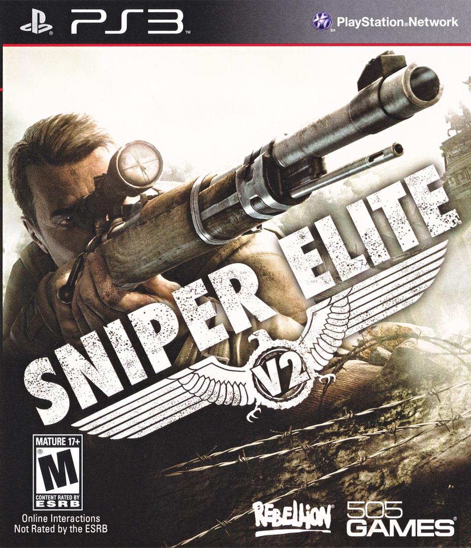 Sniper Elite V2 PS3 coverHQ (BLUS30798)