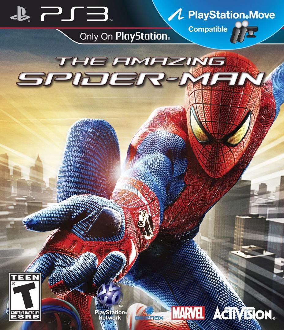 Kết quả hình ảnh cho The Amazing Spider-Man cover ps3