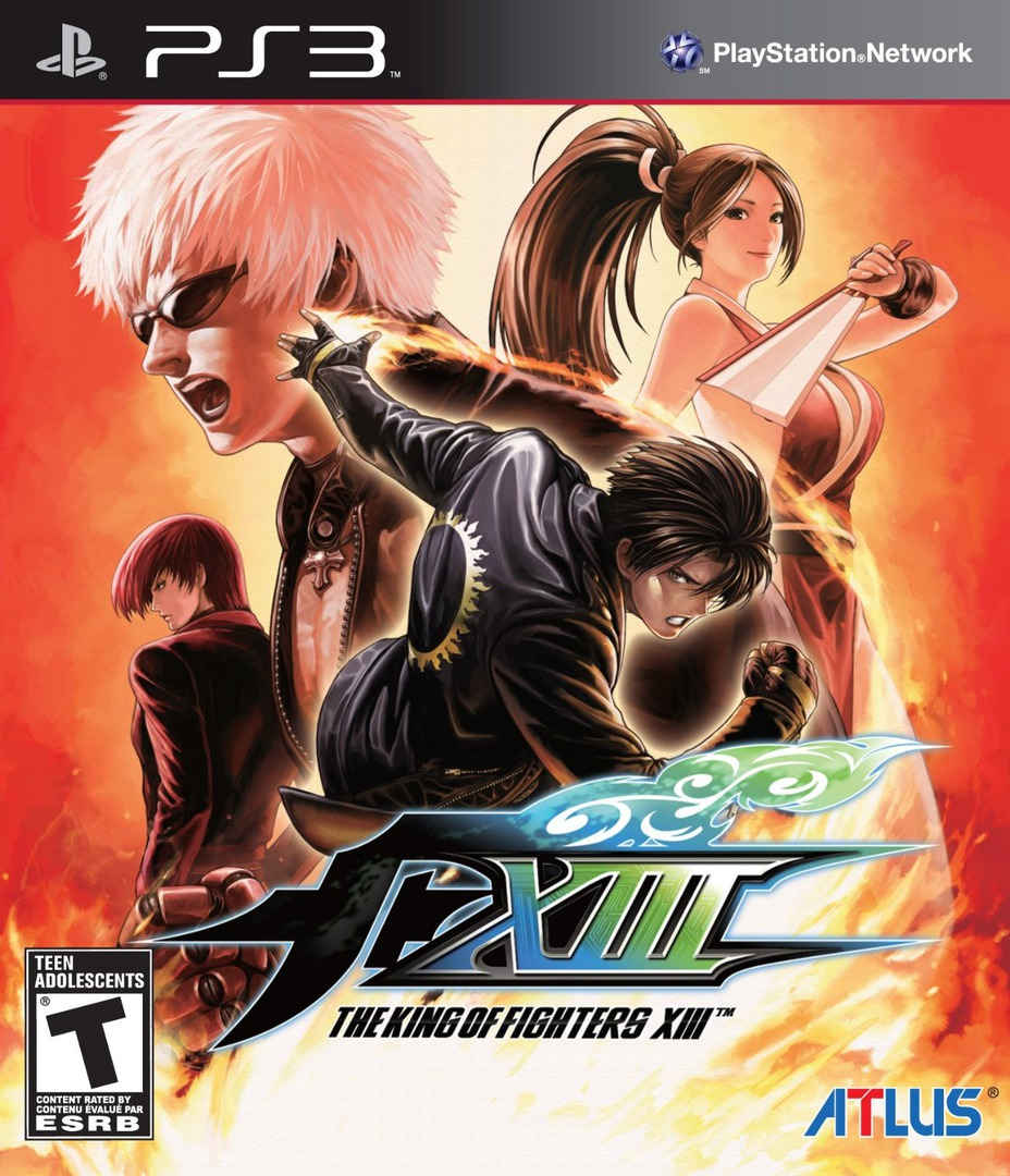 The King of Fighters XIII PS3 coverHQ (BLUS30845)