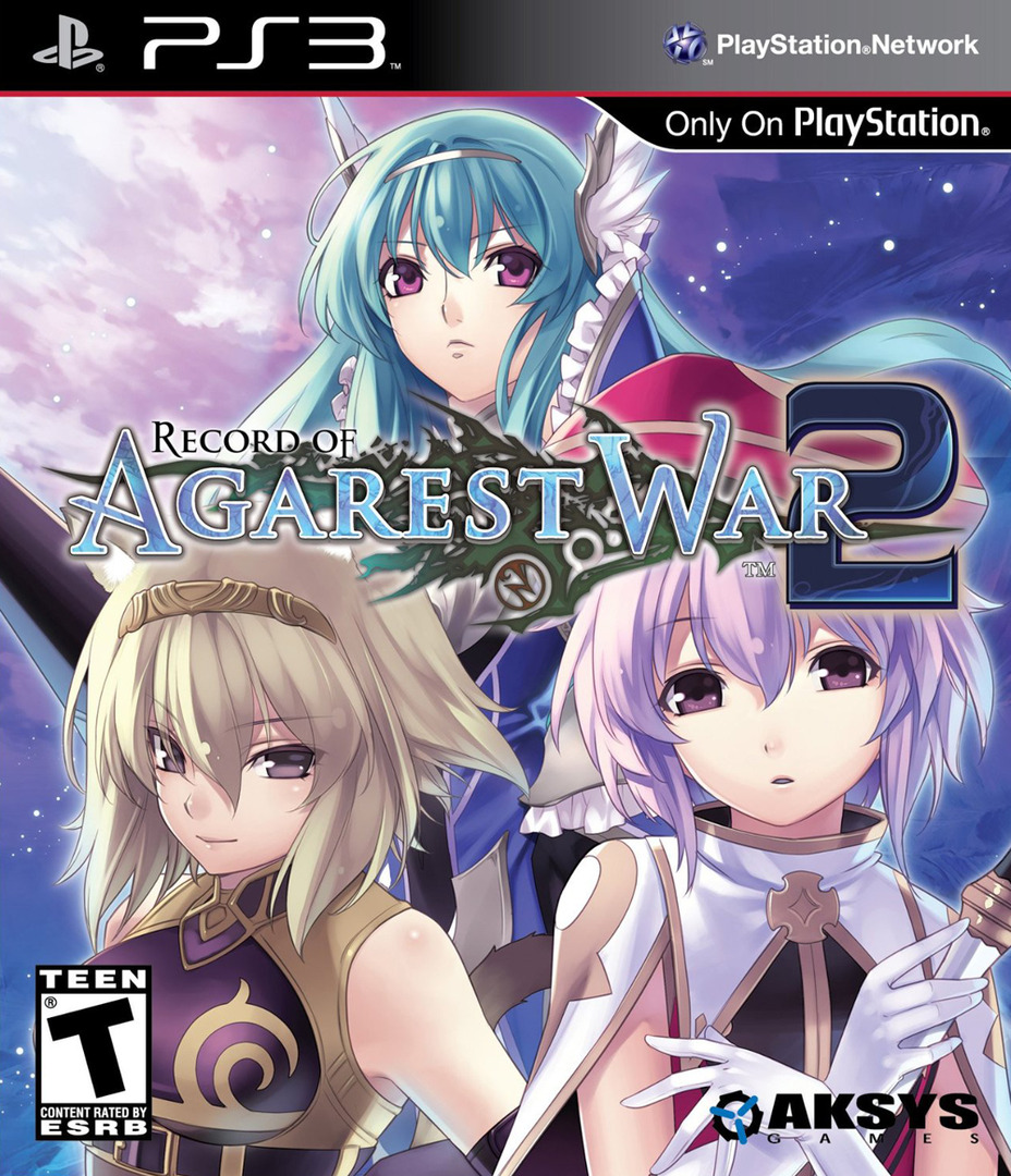 Record of Agarest War 2 PS3 coverHQ (BLUS30881)