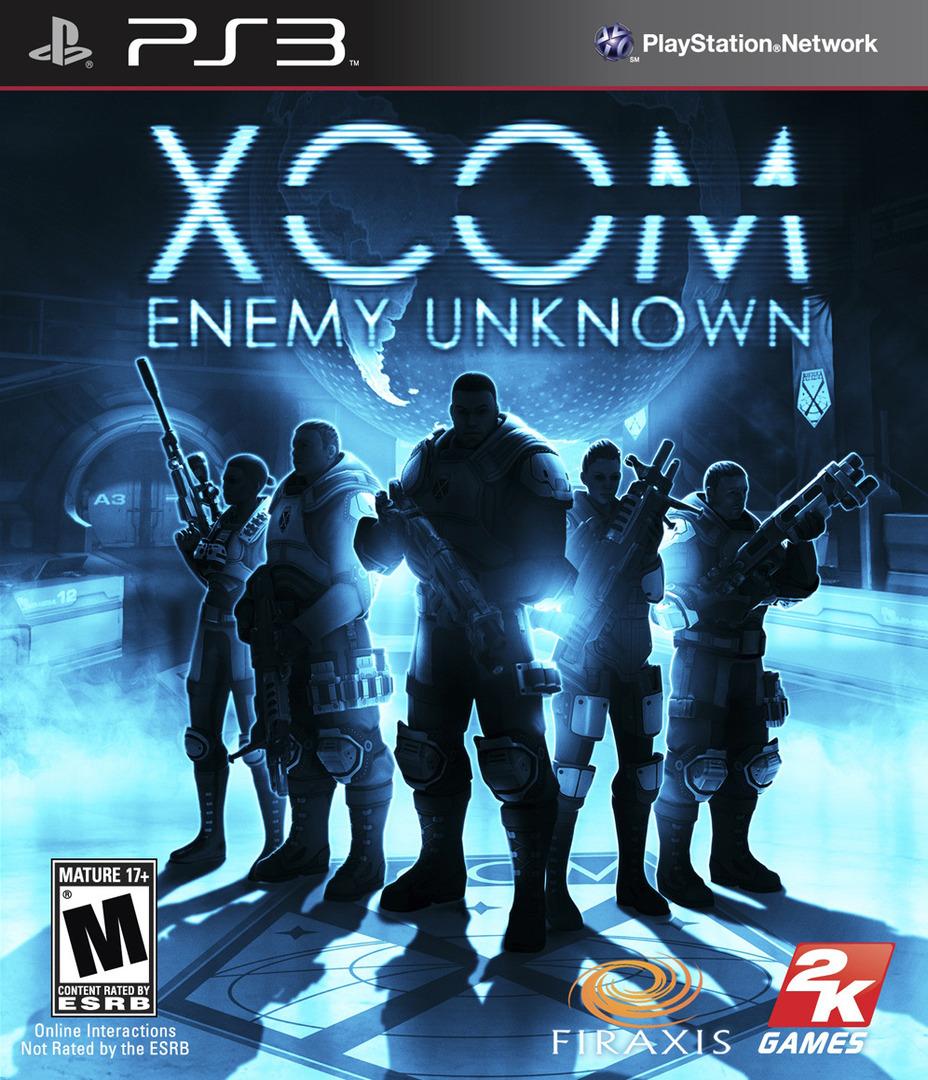 XCOM: Enemy Unknown PS3 coverHQ (BLUS30943)
