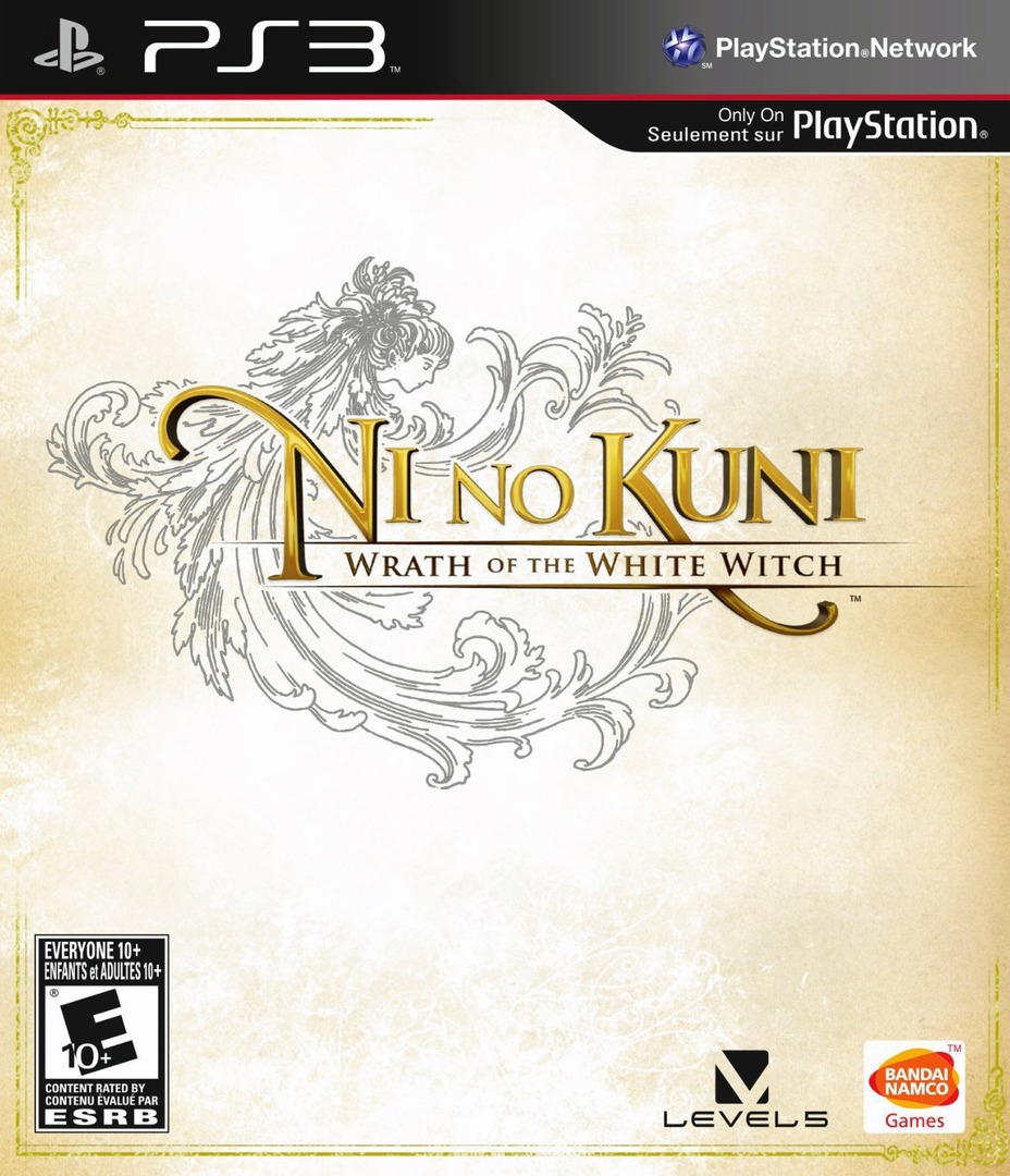 Ni No Kuni: Wrath of the White Witch PS3 coverHQ (BLUS30947)