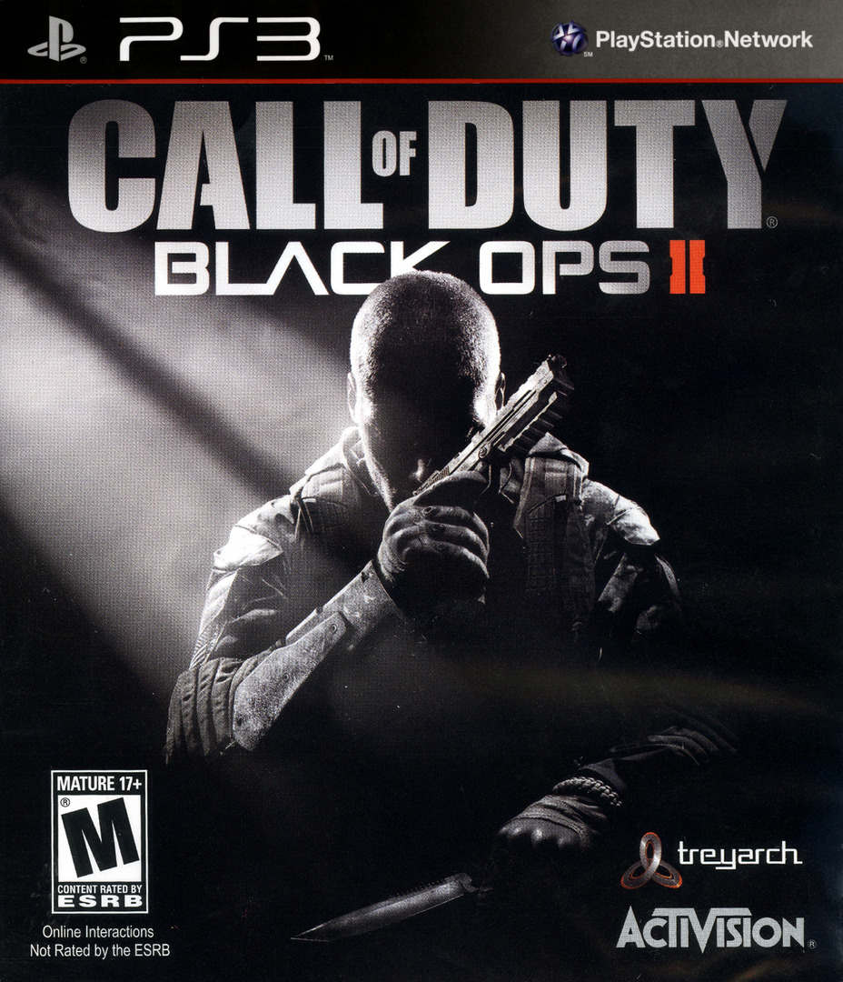 Call of Duty: Black Ops II PS3 coverHQ (BLUS31011)