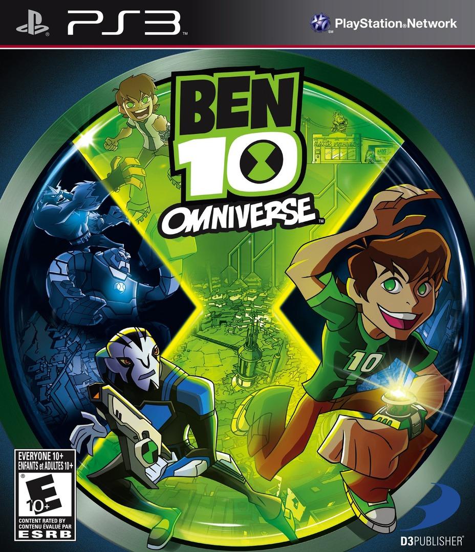Kết quả hình ảnh cho Ben 10 Omniverse cover ps3