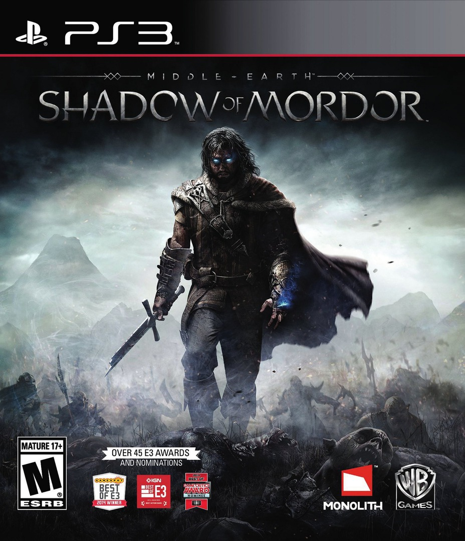 Middle-earth: Shadow of Mordor PS3 coverHQ (BLUS31059)